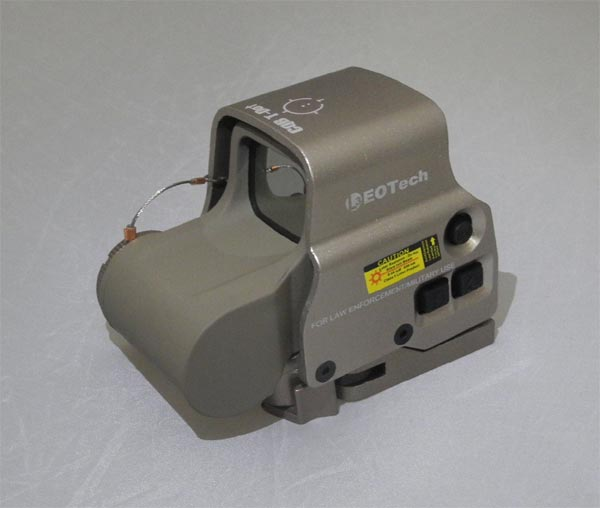 Tactical XPS2 558 CQB Red & Green T-Dot Holographic Weapon Sight - Tan