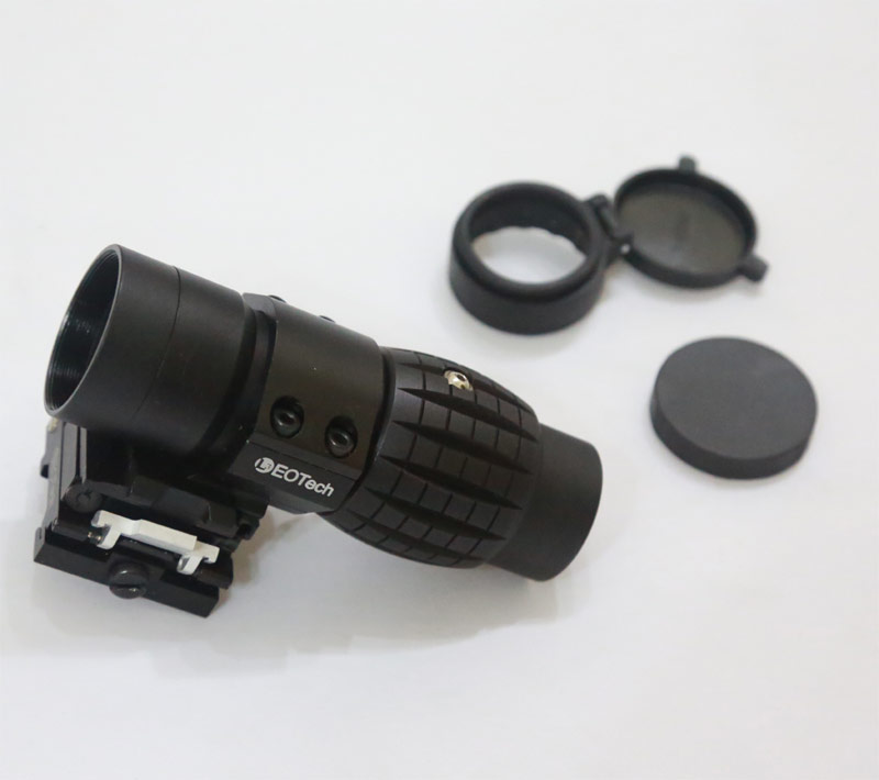 EO L3 3X Scope w/ 90-Turn Fast-Release Mount