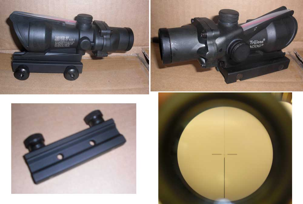 ACOG style 4X Scope – Type C