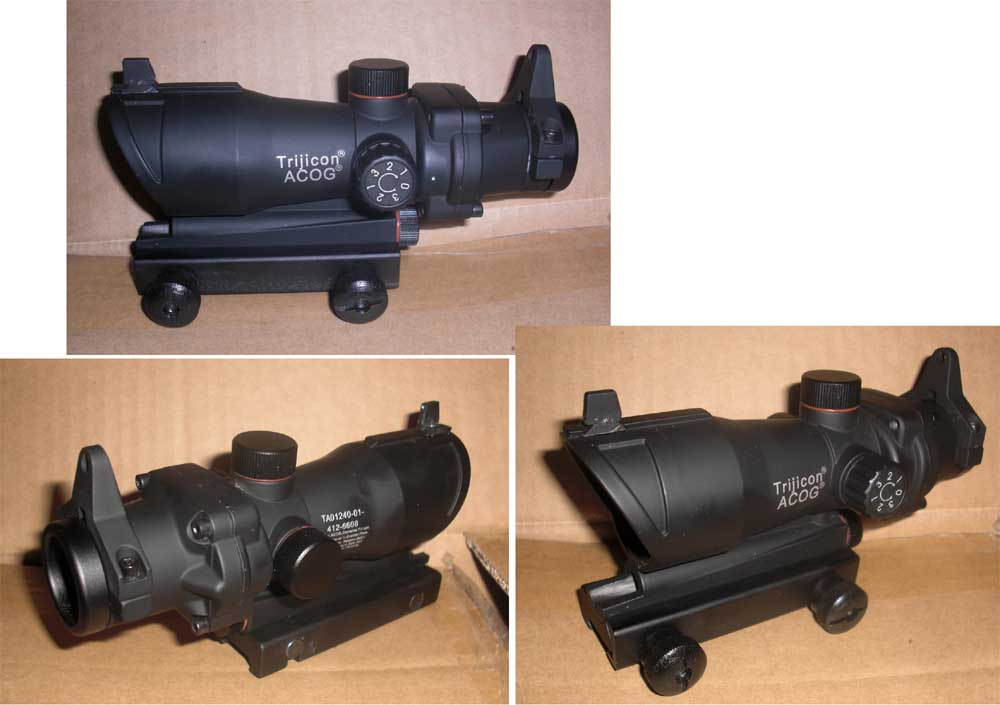 ACOG style Red / Green Dot Sight Scope