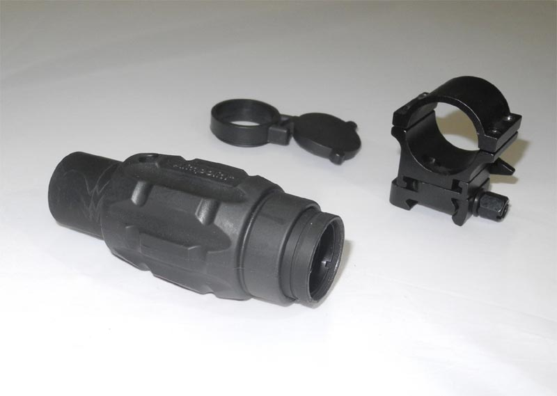 AIM 3X Magnifier Module Scope w/ Twist Mount