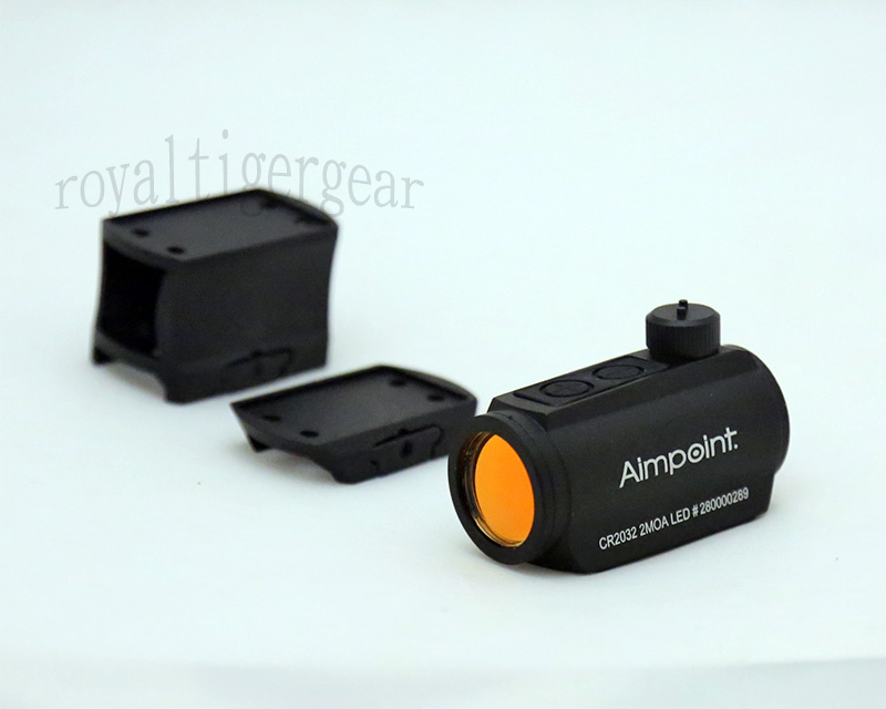 Aimpoint style Micro Red Dot Sight w/ 2 Riser Mount