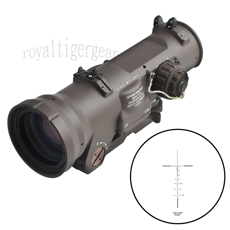 ELCAN SpectorDR new style GEN3 1.5X / 6 X Scope Red Dot Sight