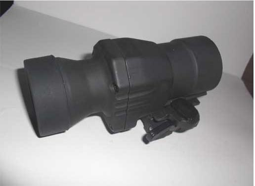 EO Tactical style 4X Scope 90-Turn Fast-Release Mount