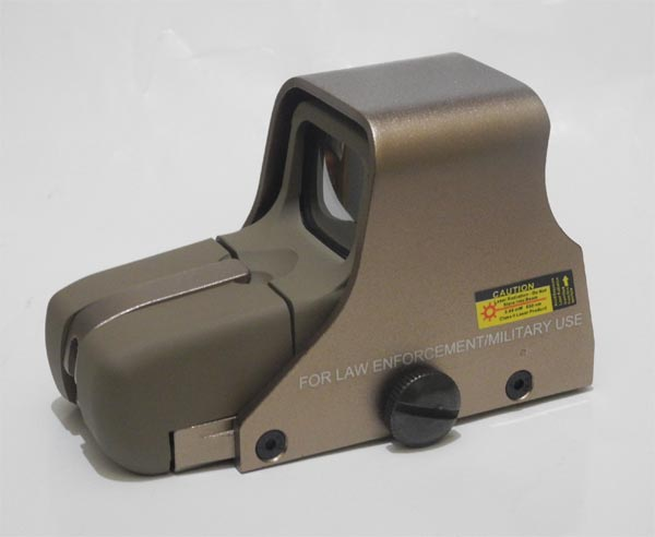 Tactical 551 Red & Green Dot Holographic Weapon Sight - Tan