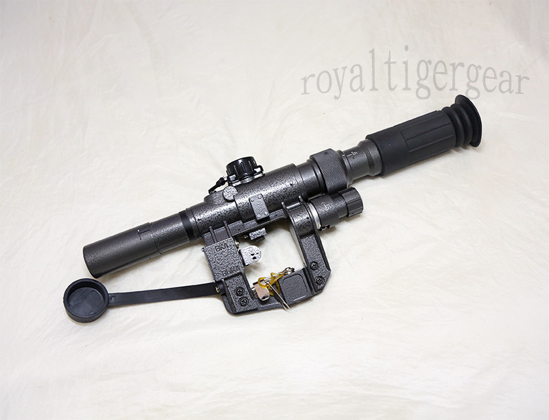 SVD 3-9x24 Red Dot Illuminated Sight Scope with Russia Mount