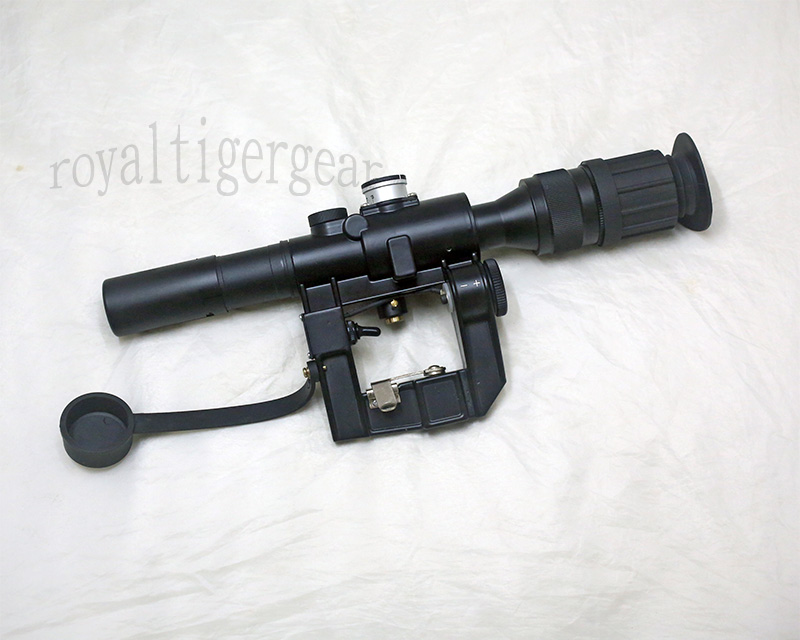 SVD 4x24 Red Dot Illuminated Sight Scope with Russia Mount