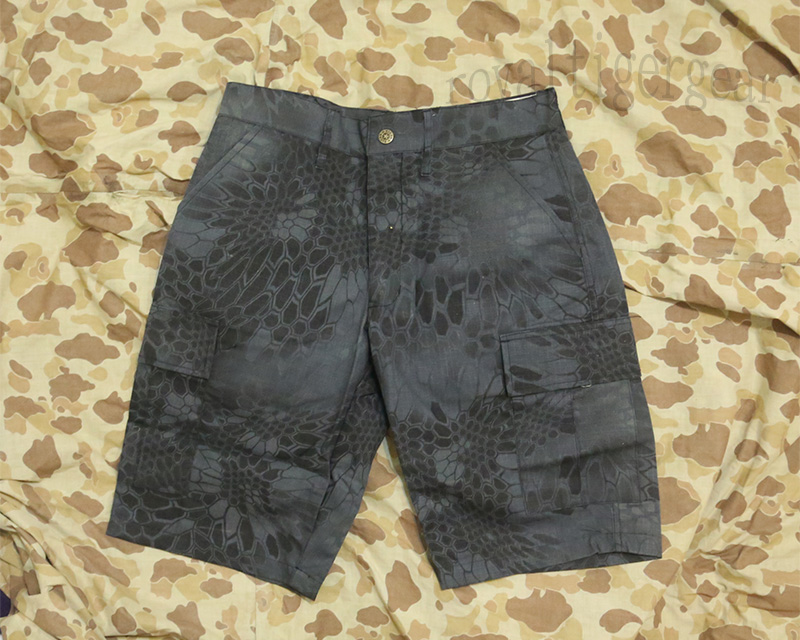 Python Snake Camo Shorts - TYP Night Urban Marines
