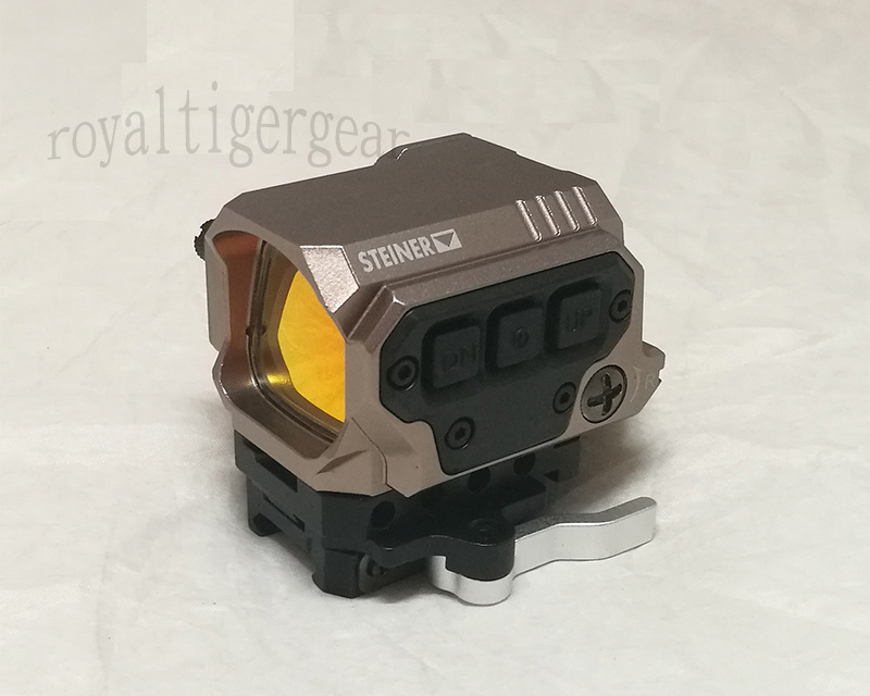 R1X Tactical Holographic Sight Red Dot Reflex Optics Sight - Dark Earth