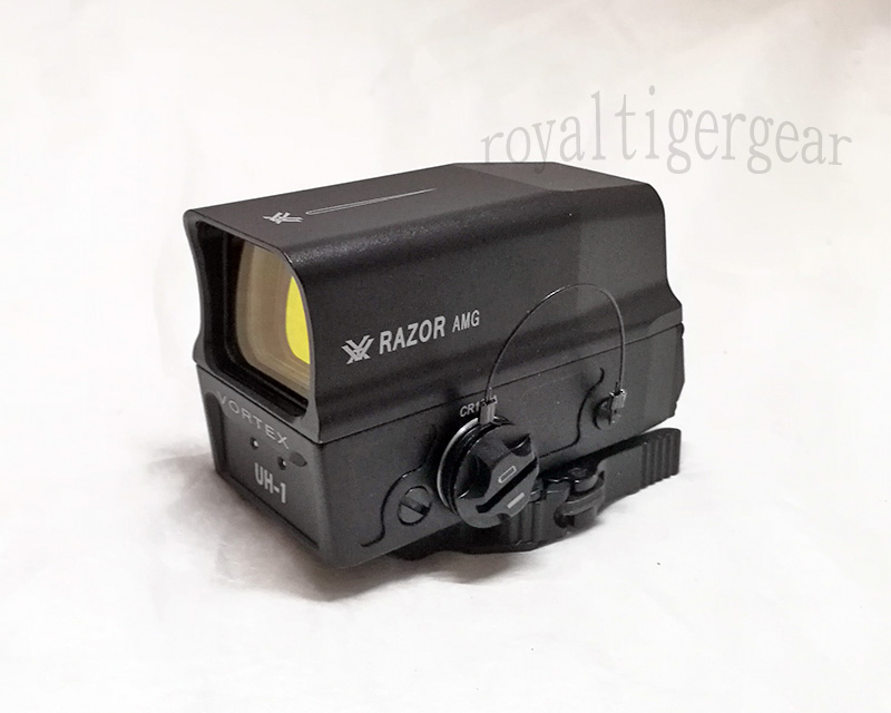 UH-1 Tactical Holographic Sight Red Dot Reflex Sight - Black