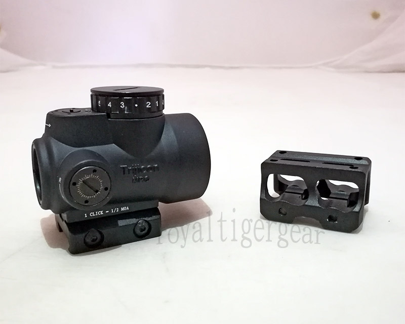 MRO Red Dot Holographic Sight w/ 2 Mounts - Mount Model 1 - Black