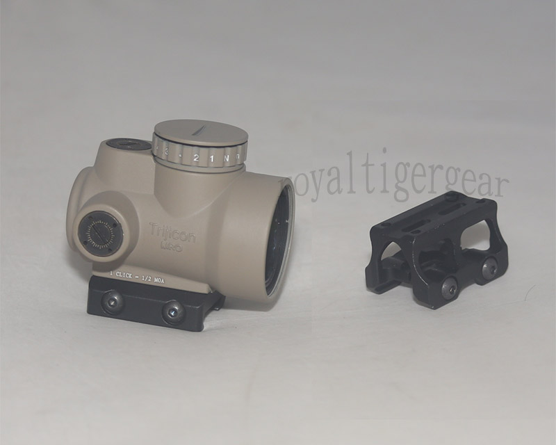 MRO Red Dot Holographic Sight w/ 2 Mounts - Mount Model 1 - Dark Earth