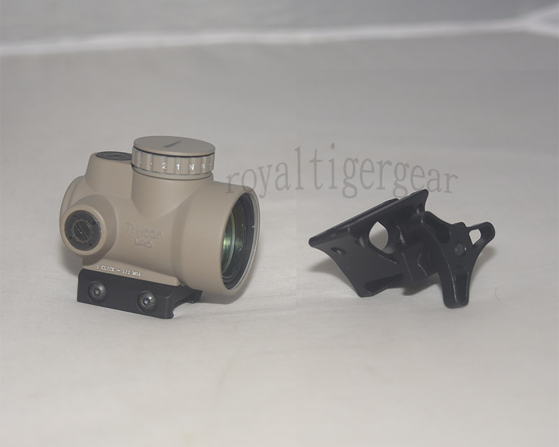 MRO Red Dot Holographic Sight w/ 2 Mounts - Mount Model 3 - Dark Earth