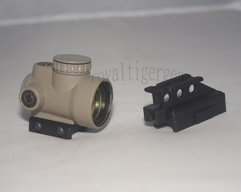 MRO Red Dot Holographic Sight w/ 2 Mounts - Mount Model 4 - Dark Earth