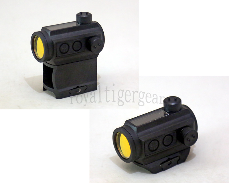 Aimpoint Holo Sun style Solar Power / Battery Micro Red Dot Sight w/ 2 Riser Mount