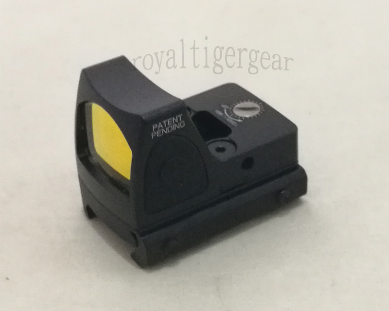 RMR style Red Dot Holographic Weapon Sight w/ 1913 Mount - Black - no Sign