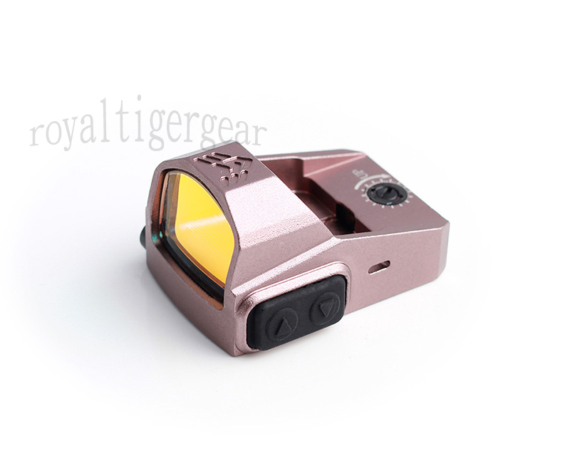 P2 Tactical Mini 1x22 Red Dot Sight Reflector with Mount RMR - Pink