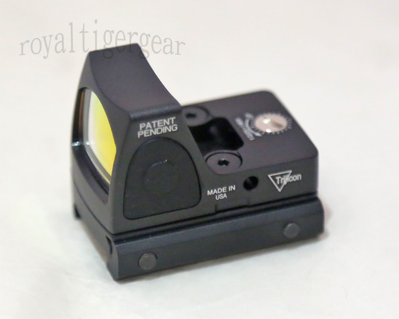 RMR style Red Dot Holographic Weapon Sight w/ 1913 Mount - Black