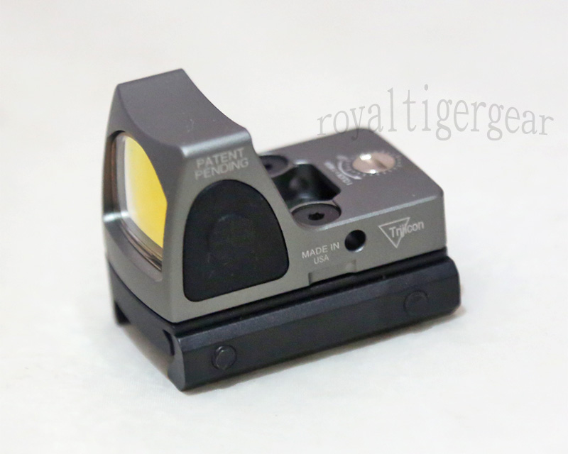 RMR style Red Dot Holographic Weapon Sight w/ 1913 Mount - Silver