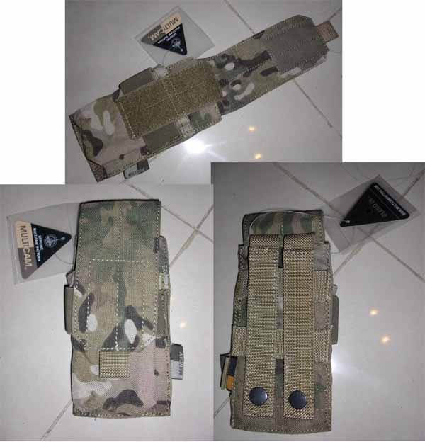 FLYYE Single M4 Mag MOLLE Pouch for 2 Mag. - MultiCam®