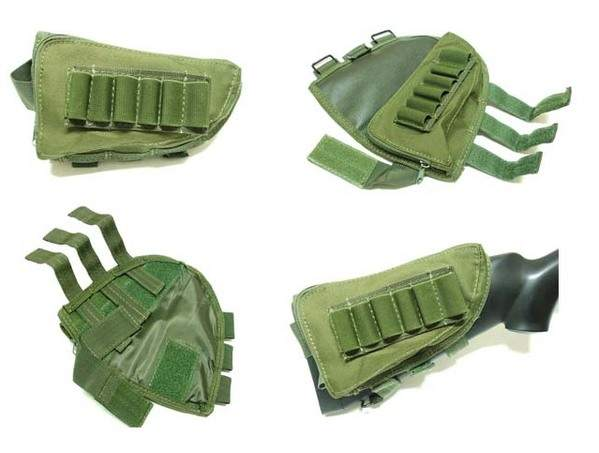 Rifle Ammo Face Pouch - OD