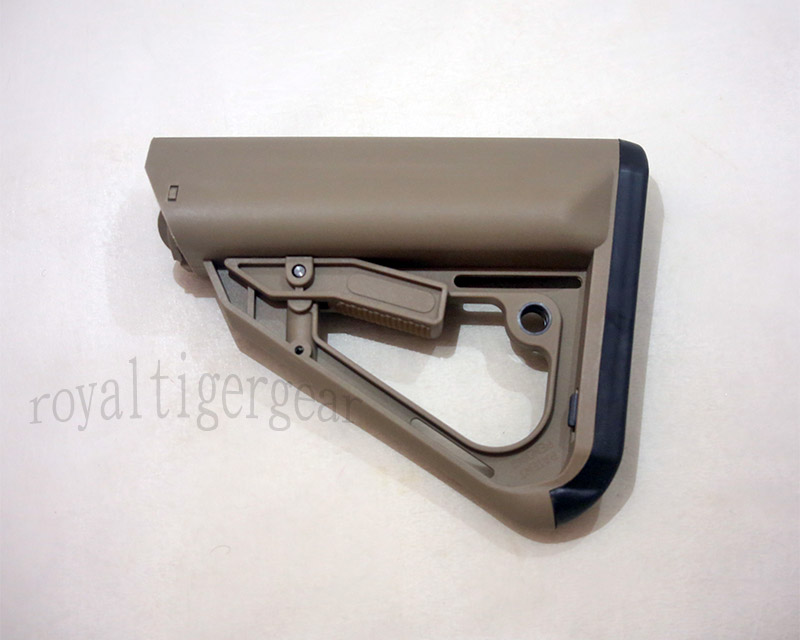 ERGO Tactical Rifle Buttstock - Dark Earth