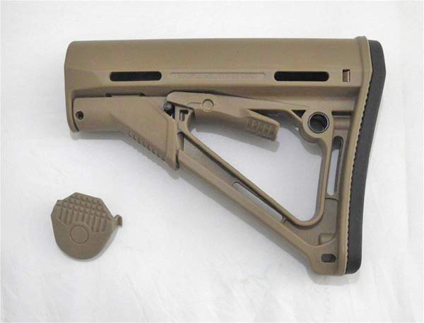 MAGPUL PTS CTR Stock - Dark Earth