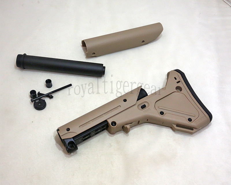 M4 UBR Stock w/ 2 Metal Tube - Dark Earth
