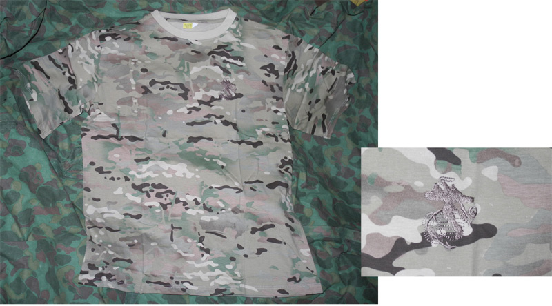 T-Shirt Multicam MC w/ USMC Logo