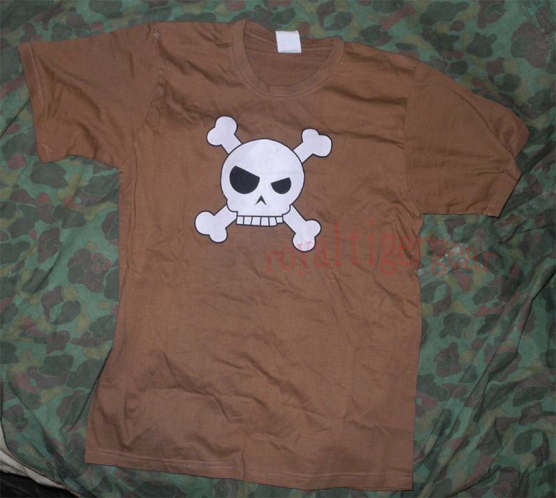 Skull T-Shirt – Brown