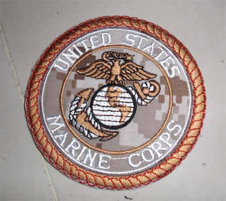 USMC United States Marine Corps Patch