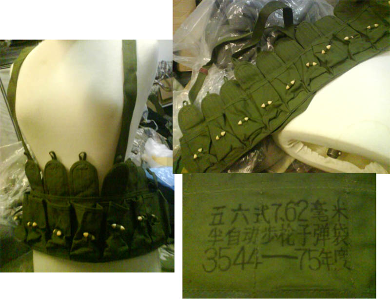 PLA Type-56 Semi-Ammo Carbine / SKS Chest Rig Vest