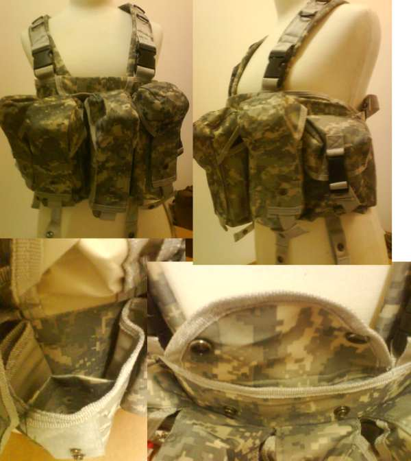 AK Tactical Assault Chest Rig - ACU