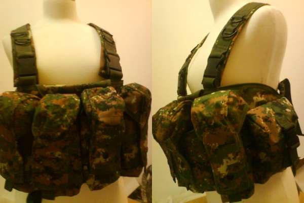 AK Tactical Assault Chest Rig - USMC MARPAT Woodland