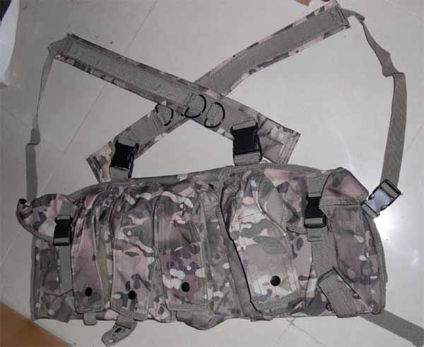 AK Tactical Assault Chest Rig - Multicam MC