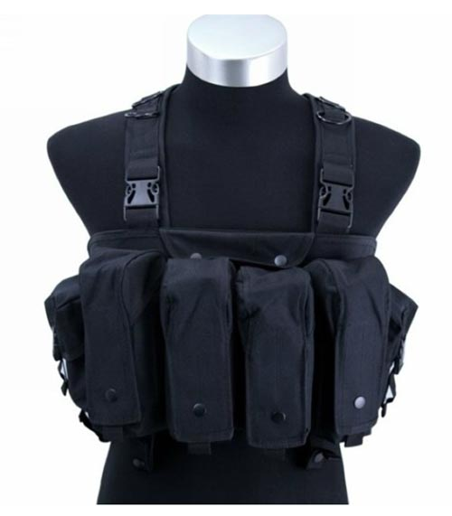 AK Tactical Assault Chest Rig - Black