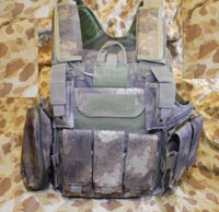 CIRAS vest with pouches - A-TACS