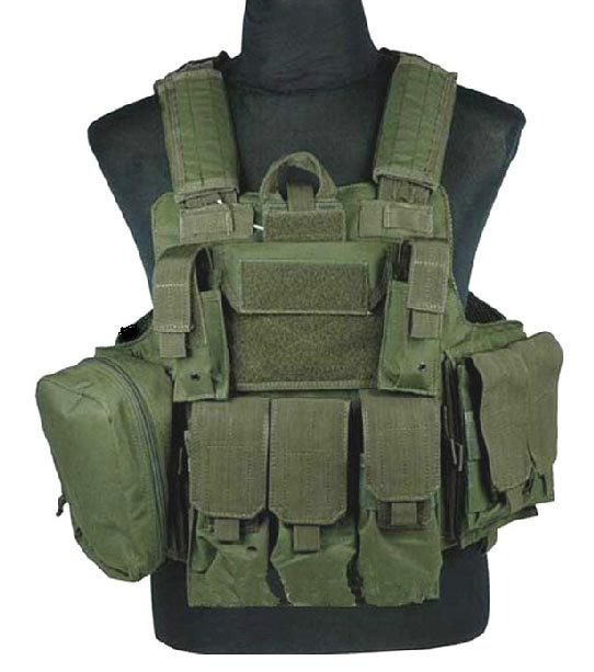 CIRAS vest with pouches - OD