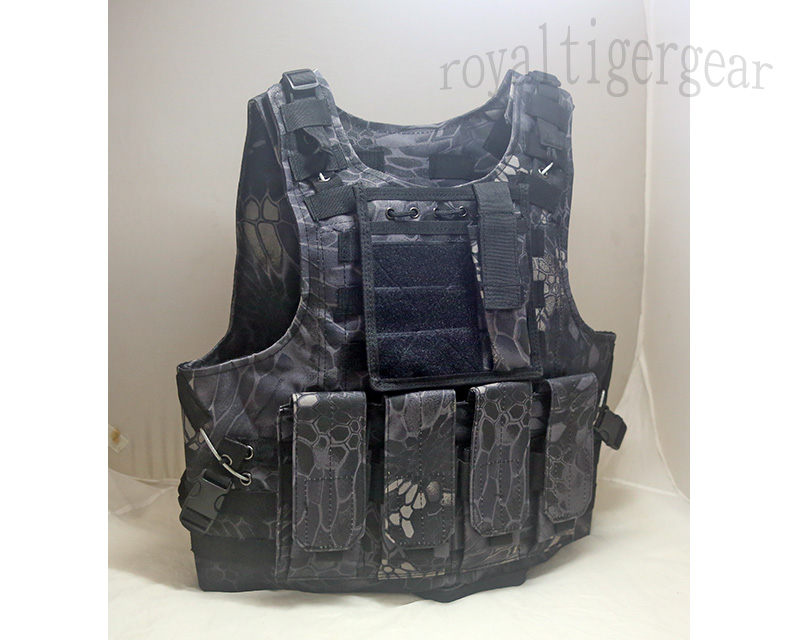 FSBE vest with pouches - Kryptek Python Snake Camo TYP Night Urban Marines