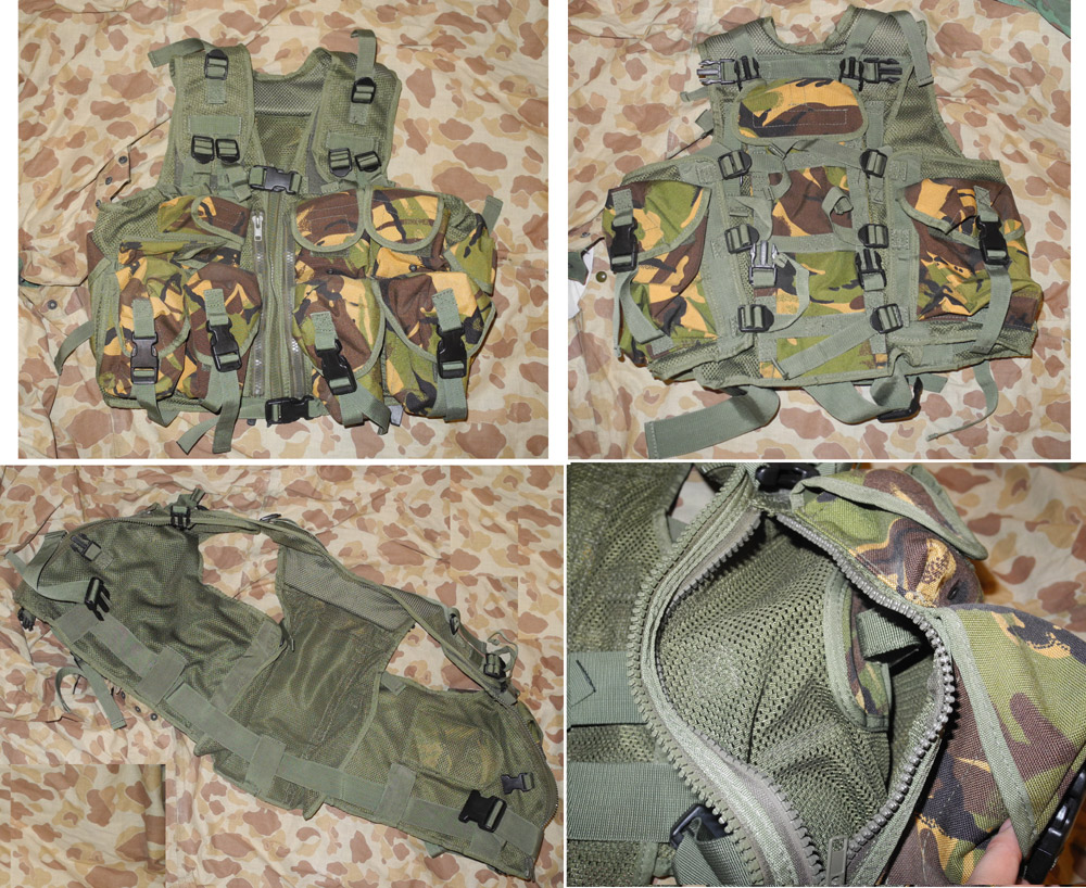 British Army style Assault Vest – Woodland DPM Camo