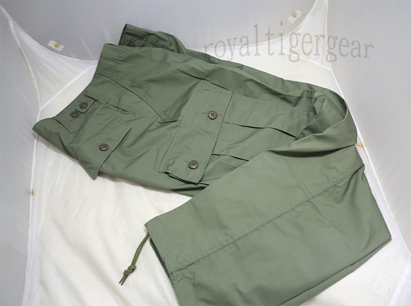 US Vietnam 1st Pattern Poplin Jungle Fatigue Pants Bottom