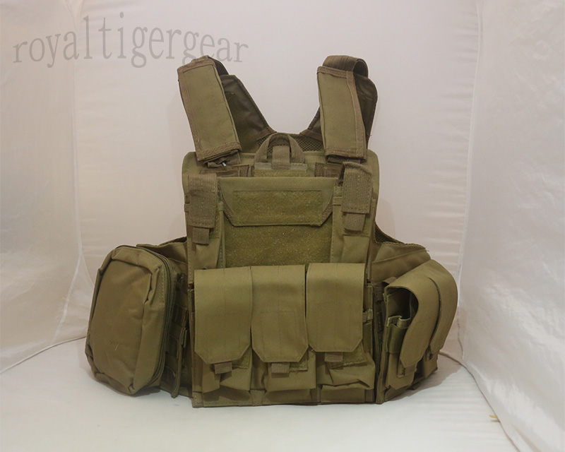 CIRAS vest with pouches - Tan