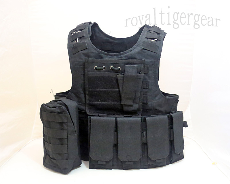 FSBE vest with pouches - Black