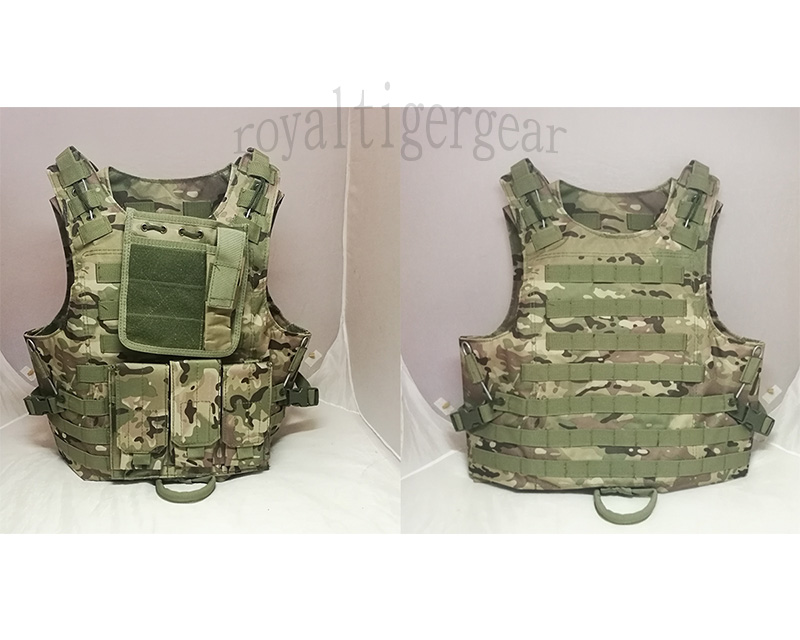 FSBE vest with pouches - Multicam MC