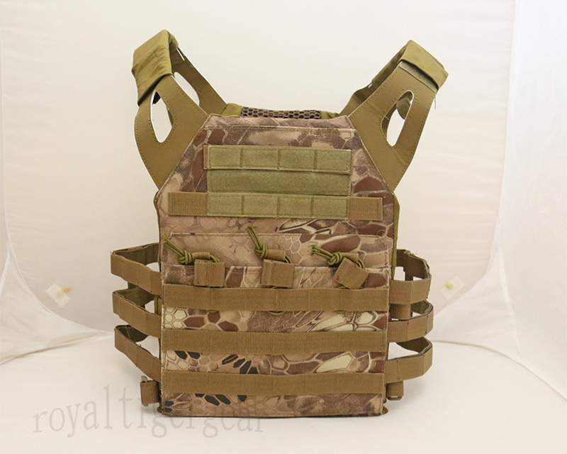 JPC Tactical Vest Plate Carrier – Python Snake Camo MAD