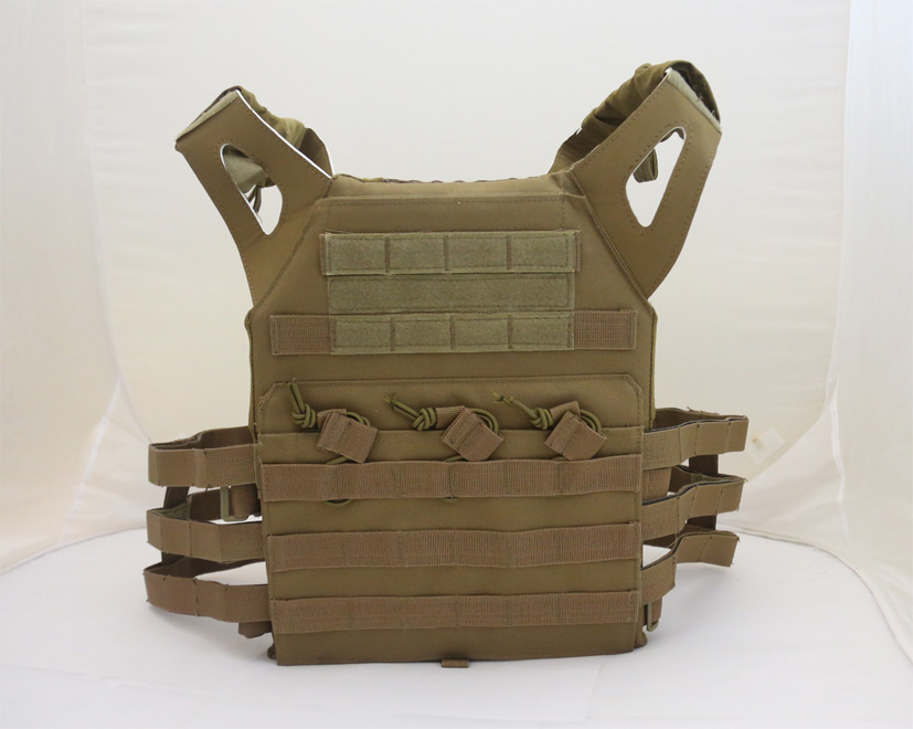 JPC Tactical Vest Plate Carrier – Brown