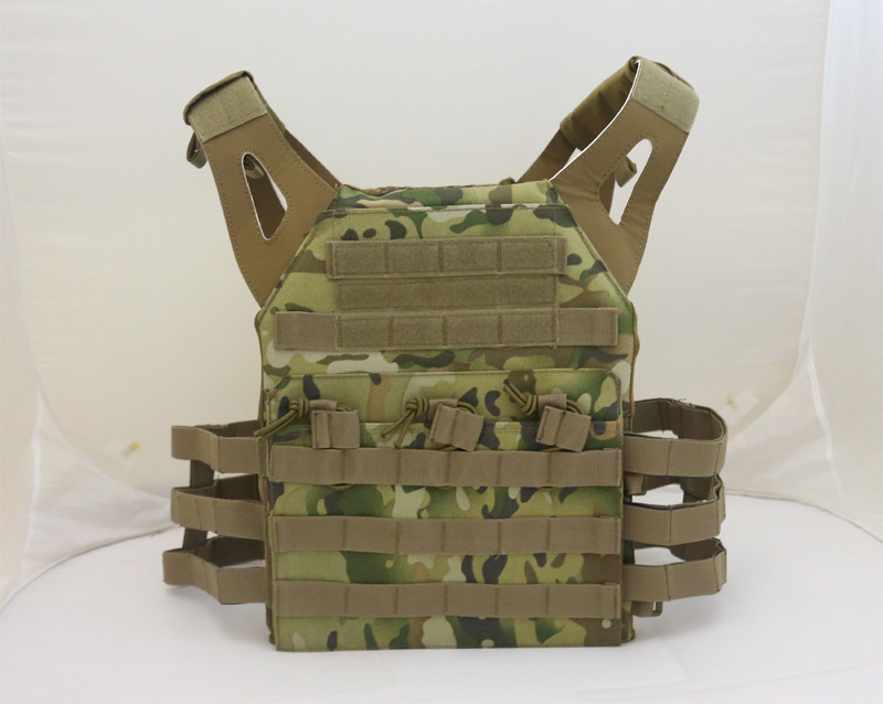 JPC Tactical Vest Plate Carrier – Multicam MC