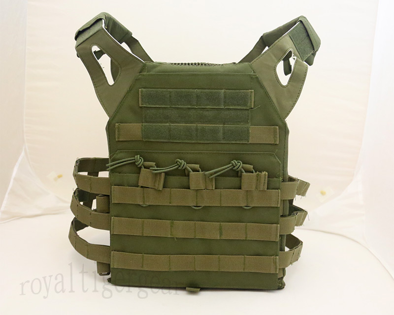 JPC Tactical Vest Plate Carrier – OD