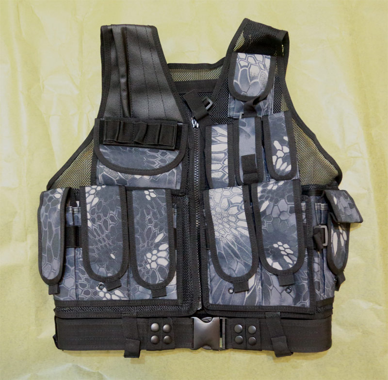 TAC Tactical Vest - Python Snake Camo TYP Night Urban Marines
