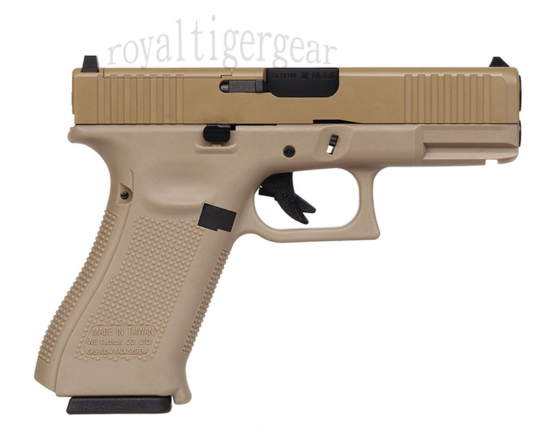 WE GLOCK19X G19X GBB Gas Pistol - Tan
